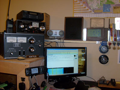 Main Radio Shack of NW7US